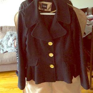 Black mini jacket
